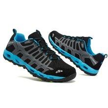 TaoBo/мужская синяя болотная обувь; дизайнерская дышащая повязка; модная обувь для женщин; прогулочная обувь