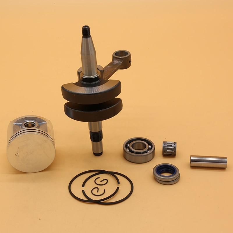 Tools : Crankshaft  Bearing Oil Seal  amp  BIG BORE 48 50mm Piston Set For HUSQVARNA 365 362 371 372 XP Garden Chainsaw Engine Spare Parts