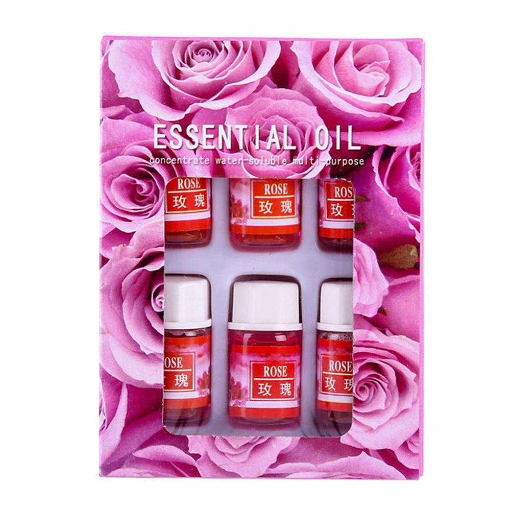 Massage Indoor Rose Fatigue Relief Essential Oil Set Relaxation Water Soluble Fragrance Natural Plants Diffuser Aromatherapy