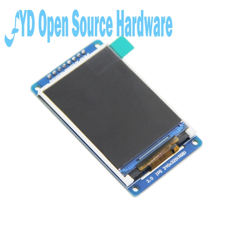 1pcs 2.0inch IPS Module 320*240 Full Color Display Screen ST7789 Drive