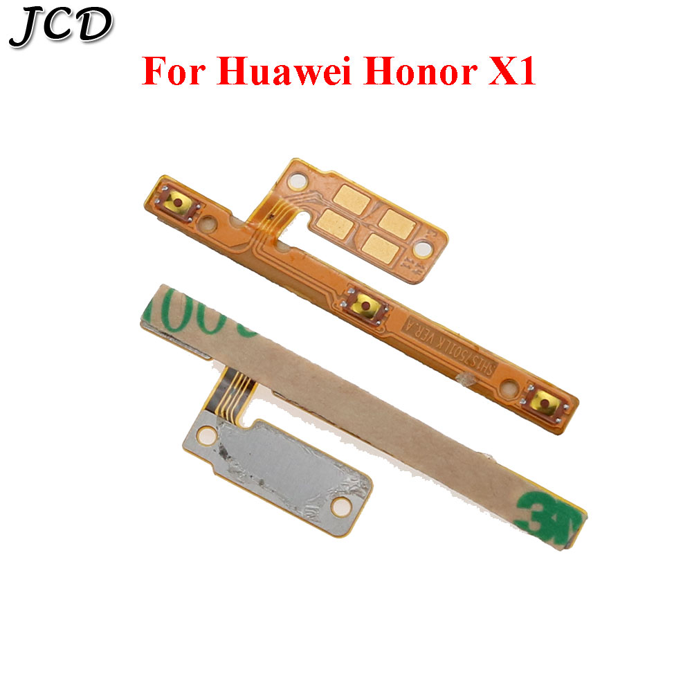 JCD For Huawei Honor X1 Mediapad X1 Side Power ON OFF Volume Key Button Switch Flex Cable Ribbon Replacement Repair Parts