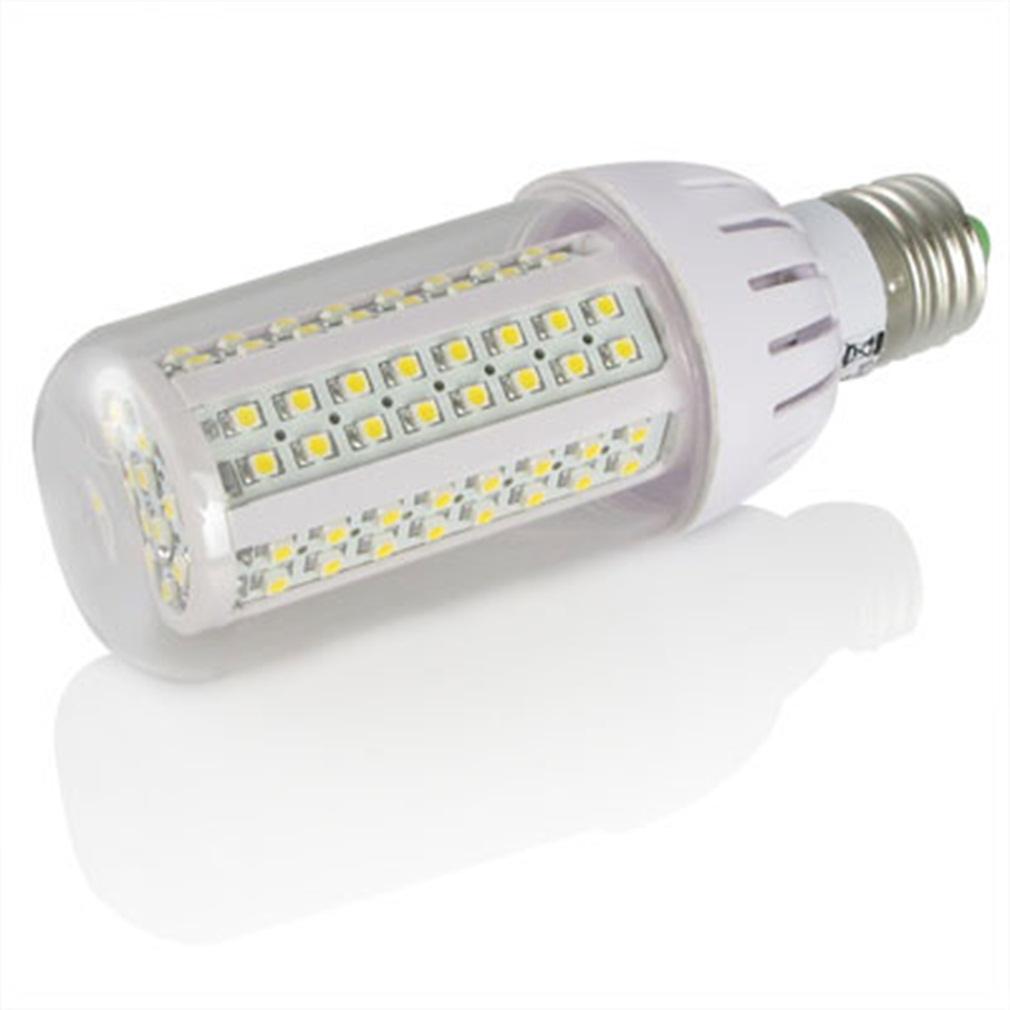 4 x E27 6W 108 SMD3528 Corn Bulbs Day White LED bulb tube Super Deal! Inventory Clearance image