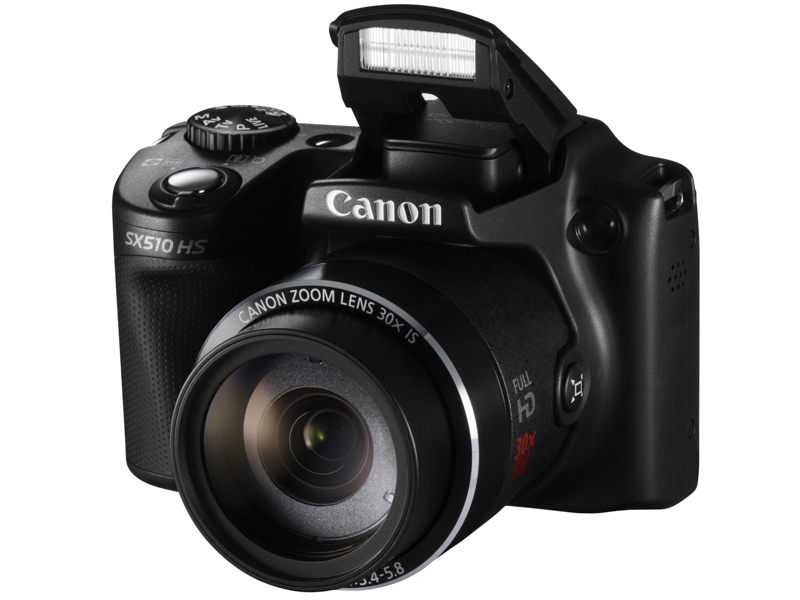 USED CANON Digital CAMERA POWER SHOT SX510 HS 12.1MP WIFI IS 30x Optical Zoom Camera
