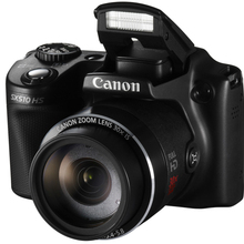 USED CANON Digital CAMERA POWER SHOT SX510 HS 12.1MP WIFI IS