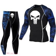 New Thermal underwear Suit Jogging suit gentlemen track suit Base layer long Spo