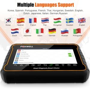 Image 5 - FOXWELL GT60 Scanner de Diagnostic automobile, outil de Diagnostic de voiture, système complet, ABS SRS EPB DPF, réinitialisation de lhuile, PK MK808, câble OBD2