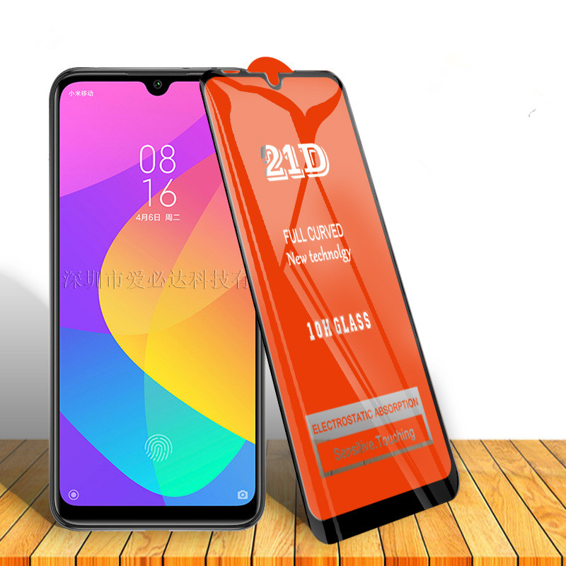 Закаленное стекло для Xiaomi CC9 CC9e CC9Pro/Poco F1 F2/Note 5 5Pro 10Pro/Y1Lite