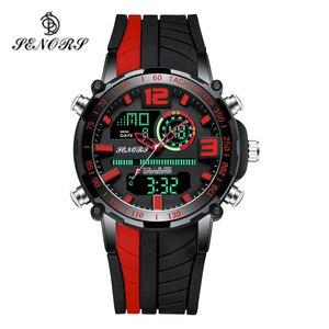 Image 1 - Senors Sports Watch Men Famous LED Digital Watches Male Clocks Mens Watch Relojes Deportivos Herren Uhren Reloj Homme