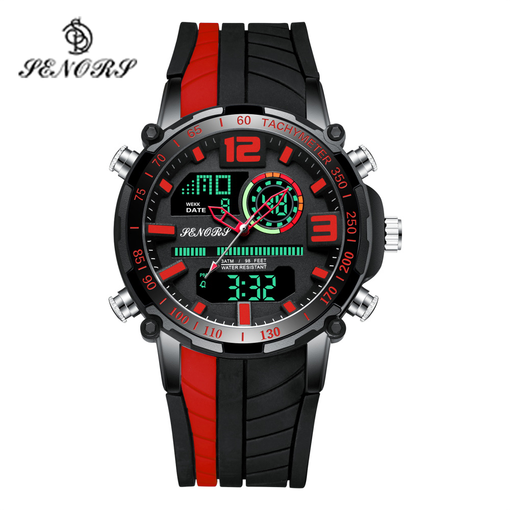 Senors Sports Watch Men Famous LED Digital Watches Male Clocks Men's Watch Relojes Deportivos Herren Uhren Reloj Homme