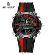 Senors montre de sport hommes célèbres LED montres numériques hommes horloges montre pour hommes Relojes Deportivos Herren Uhren Reloj Homme