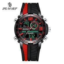 Senors спортивные часы Для мужчин известный светодиодный цифровые часы мужские часы Для мужчин, мужские часы, часы, наручные часы с механизмом, Deportivos Reloj Homme