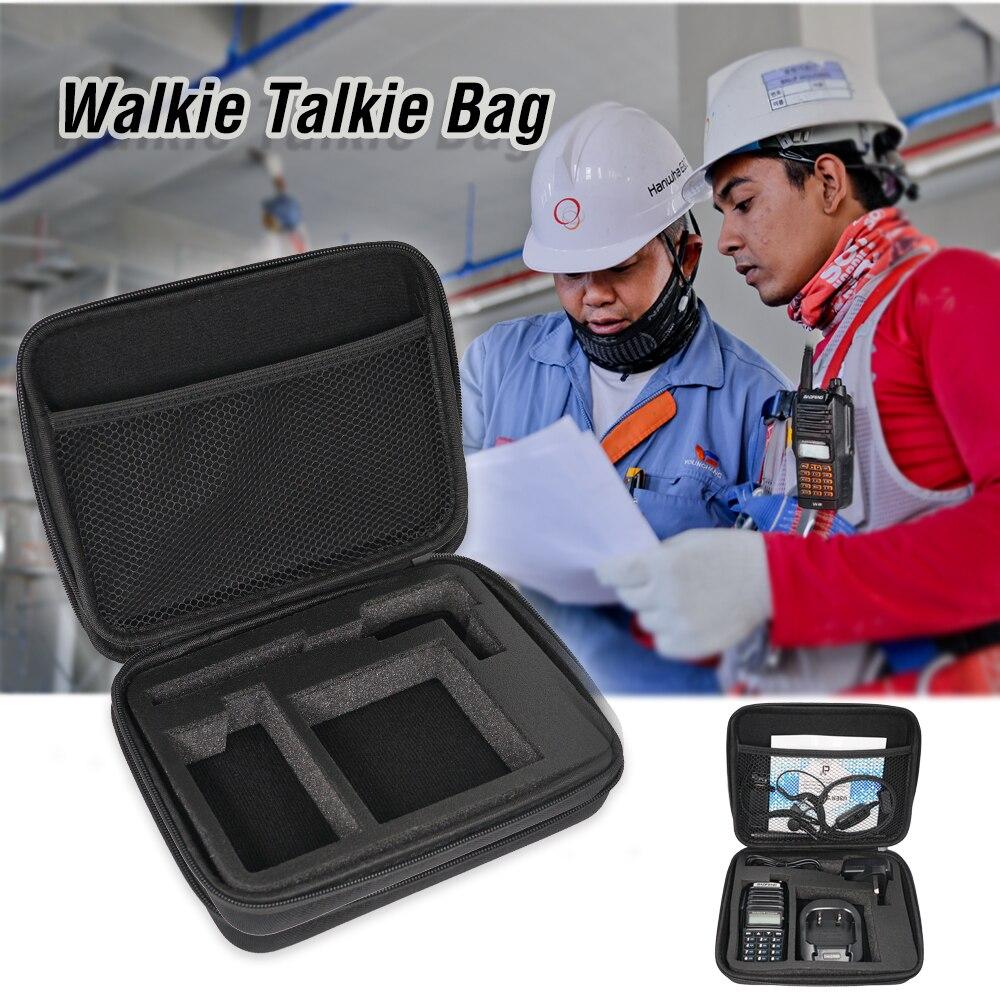 Car Walkie Talkie Handbag Portable Radio Case Carring Bag Storage Box For UV-82 UV82 BF-888S UV5R Pro UV3R Launch Hunting Bag
