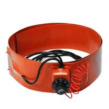Гибкий силиконовый стакан кремния резины согревающий пояс энергии биодизельное оборудование термостат управления Замена аксессуары 700W