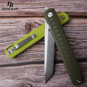 "Image 5 - 8.5"" FH11 60 61HRC Knives 5 Color D2 Blade G10  Handle Folding Knife Plus Pocket EDC Folding Knife Camping Utility Outdoor EDC"
