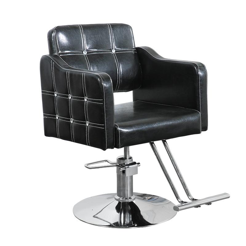 Hairdresser Chair, Hair Salon, Exclusive Chair, High-grade Hairdressing Chair, Lifting And Rotating Hair Cutting Chair