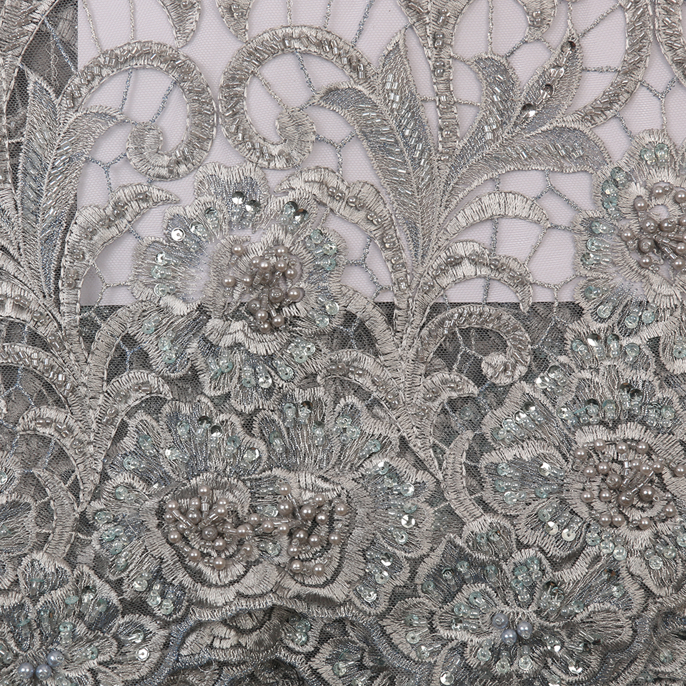 rendas materiais moda tissu vermelho francês malha