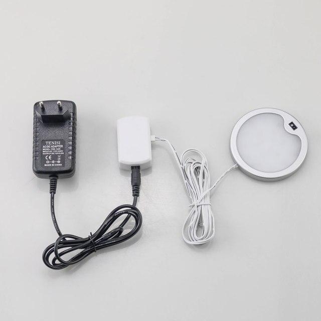Prise mâle LED armoire lumière moyeu séparateur adaptateur boîte de jonction connecteur vitrine rockom12v Puck lumières