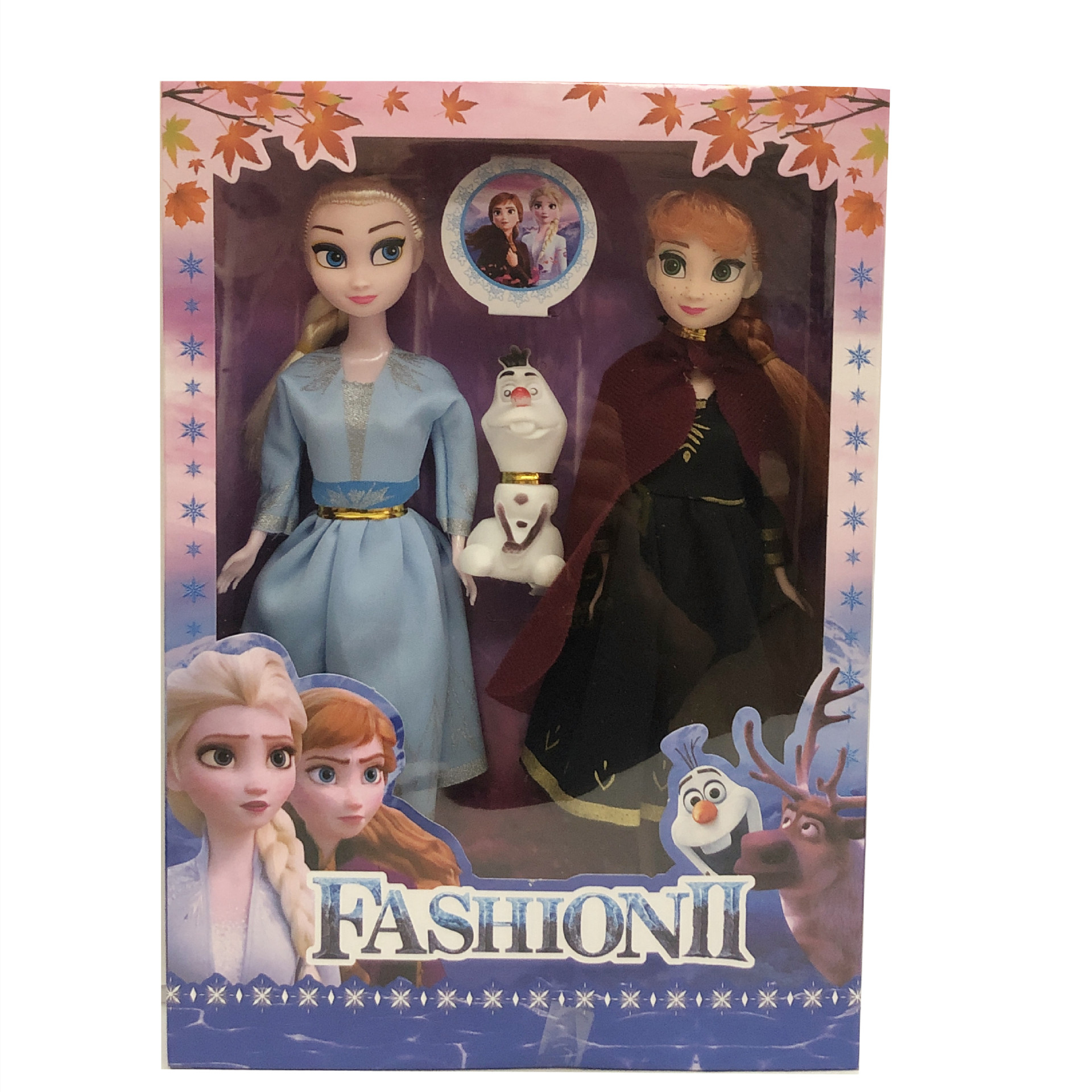 2 un.//set Frozen Princess Elsa//Anna Juguetes Suave Peluche Peluche Muñeco Niños Juguetes de Regalo