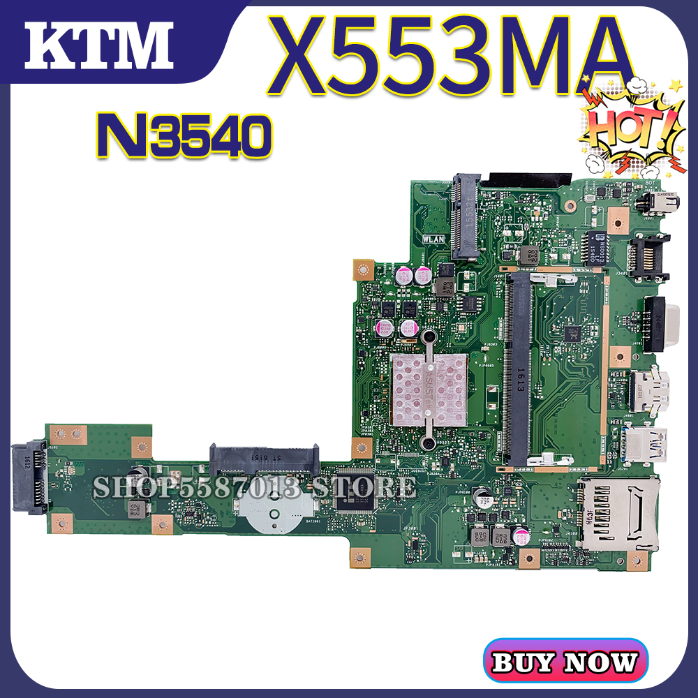 For ASUS X553MA/X553M/X503M/F553M/F503M Laptop Motherboard Mainboard Test OK N3540/CPU