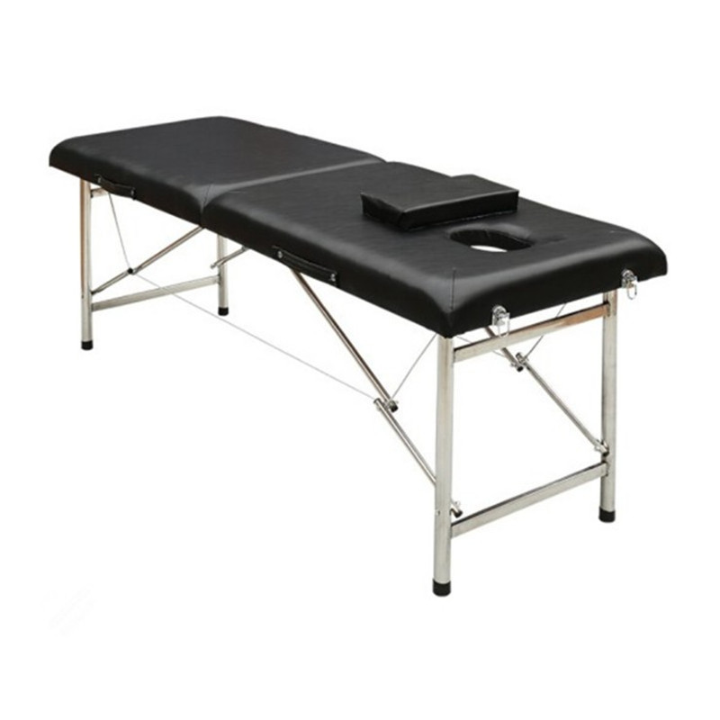 Stainless Steel Portable Massage Bed Original Point Reinforcement Massage Bed Beauty Bed Parallel Bars Massage Bed