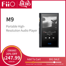 FiiO Android-based M9 HIFI Music MP3 Player with Balanced Output/Support WIFI/Air Play Bluetooth 4.2 aptx-HD/LDAC DSD128 USB DAC(China)