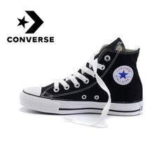 КОНВЕРС ВСЕ ЗВЕЗДЫ скейтборд обувь Для Мужчин's классический унисекс, парусиновая обувь с высоким берцем кроссовки удобные и прочные модели 102307