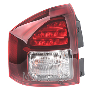 Image 3 - Rear Tail light For Jeep Compass 2014 2015 2016 Tail Stop Brake Warning Lights Car Parts Rear Turn Signal Fog Lamp Car Supplies