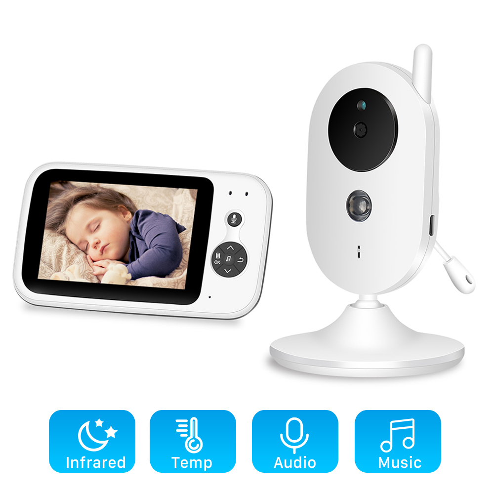 Baby-Monitor Video Security-Camera VB603 Surveillance Night-Vision Audio-Talk Wireless