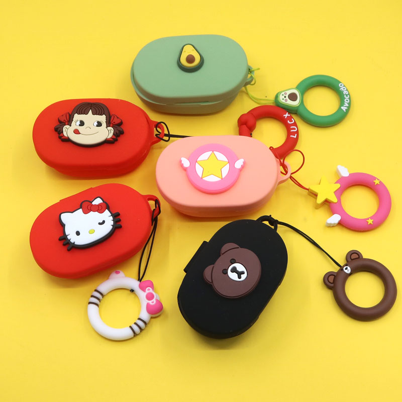 Cute Avocado Earphone Cover For Redmi Airdots Case Cute Protection Frame For Xiaomi Airdots Cases For Mi Air Dots