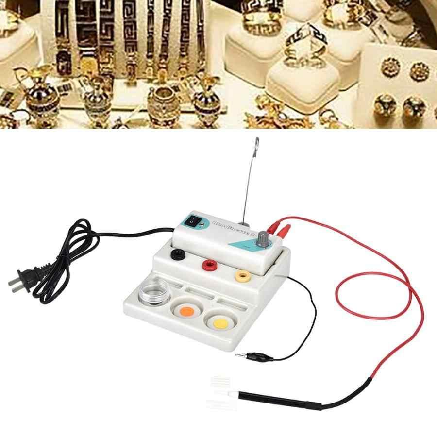 Argent plaqué or stylo Type placage Machine bijoux galvanoplastie stylo outils de traitement US Plug 110V bijoux équipement outils f