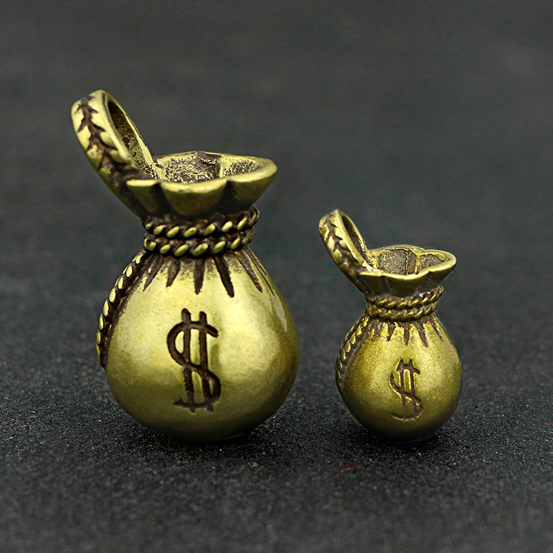 Lucky Money Bag Keychains Pendants (7)