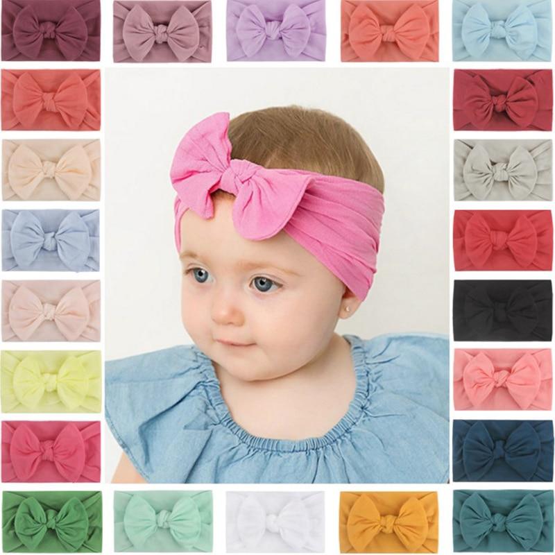 Newborn Toddler Turban Baby Headband Bow Girl Headbands Baby Hair Accessories