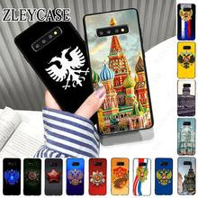 Rusland Vlag Eagle Kasteel Van St. Petersburg Telefoon Case Voor Samsung Galaxy S10plus S10e S9 S8plus S20plus S7 S6edge S20ultra cover(China)