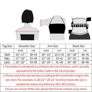 Image 5 - Shaper braccio superiore correttore postura più sottile donna maniche a compressione corpo Shapewear intimo correttivo senza cuciture top dimagranti