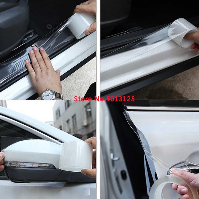 Mobil Pintu Edge Pengaman Anti-Tabrakan Strip Pintu Bumper Protector Kecelakaan Mobil Anti Gosok Perlindungan untuk Hyundai Solaris 2019 2018 2017