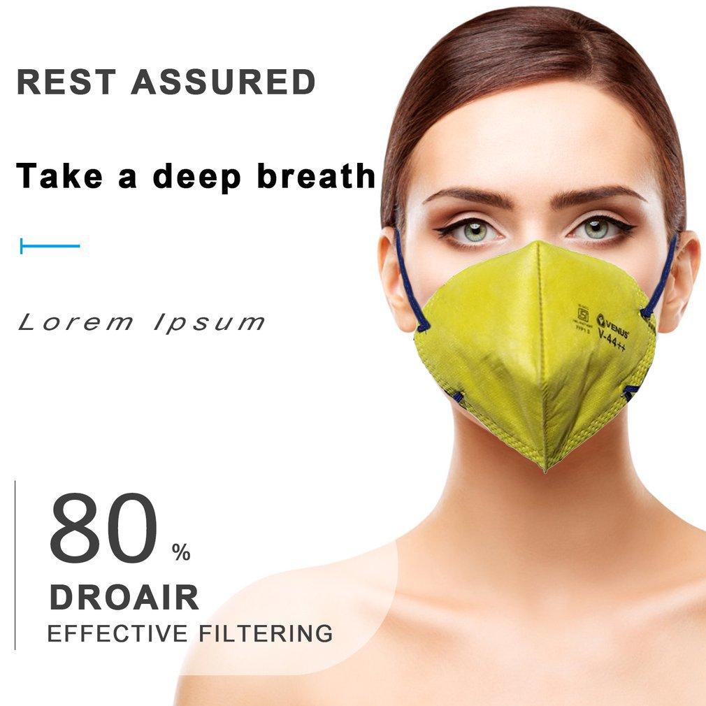 Anti-fog Headband FFP1 Grade Round Mask Non-woven Dust Mask Anti Breathing Bicycle Riding Face Mask Safety Masks