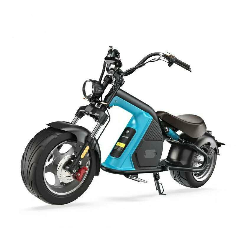 EEC COC Электрический M8 Citycoco 60V 2000W 20AH бесщеточный 12 дюймов электрический мотоцикл электрический мотор длинный диапазон