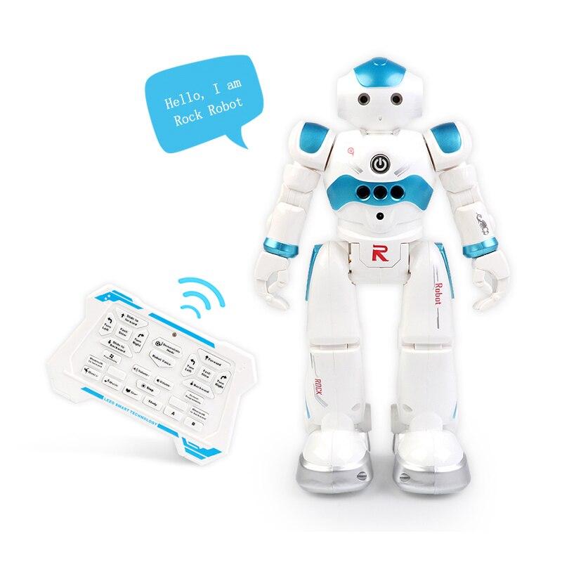 Robot RC chantant danse parlant interactif jouet Robots télécommande électrique robotique éducative pour enfants cadeaux de noël