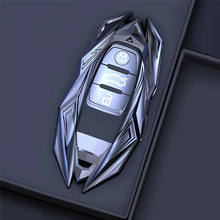 Metal liga de zinco carro remoto chave caso capa para audi a4l a6l q5 a3 a5 a7 a8 s5 s7 remoto fob capa chaveiro titular acessórios
