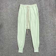 Owen Seak Men Casual Harem Pants 100% Cotton Gothic Clothing Sweatpants Summer High Street Lightweight Women Solid Loose Pants