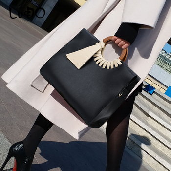 LUCDO Classic Vintage Women Handbag Vintage large tote Shoulder Crossbody Bags for Women 2020 Ladies shopping Bag bolsos mujer