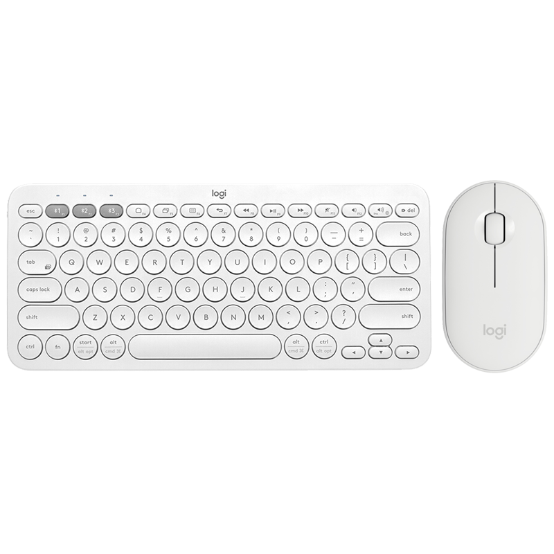 K380 and Mouse White