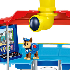 Image 3 - Paw Patrol  Lookout Tower Dog Rescue Base Toys Set Puppy Patrol Ryder Chase Anime Action Figures Model Kids Birthday Best Gift