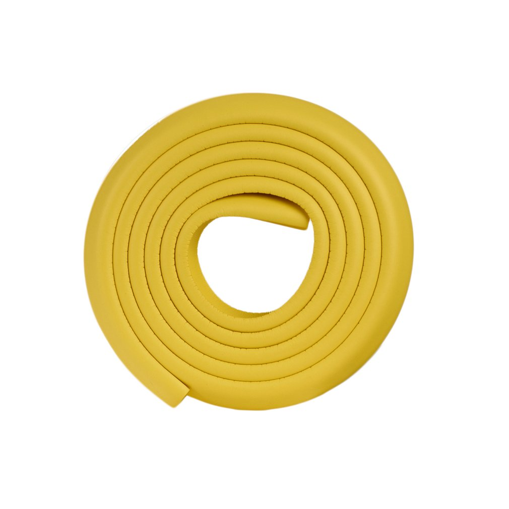 Baby Safety Desk Table Edge Corner 2M Protector Foam For Furniture Rubber Baby Protection Cushion Guard Strip Softener Bumper