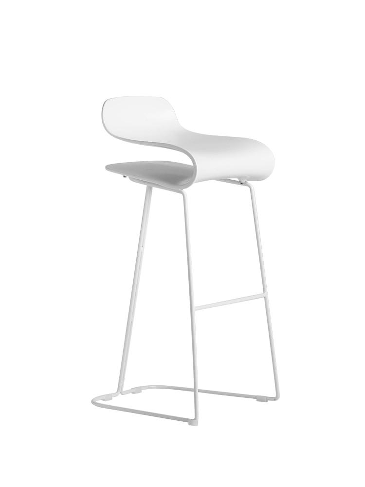 Nordic Fashion Bar Chair Personality Iron Chair Backrest High Stool Simple Modern Home Bar Stool Metal Bar Chair