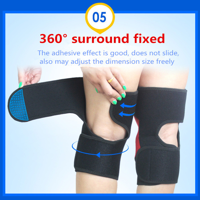 DYROREFL New Basketball Running Fltness Sports Knee Protector Knee Protector Joint Support Knee Warmer Running Supplies  H04