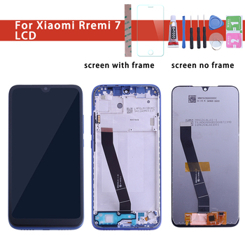 Original Quality 6.26 For Xiaomi Redmi 7 Redmi7 LCD Display With Touch Screen Digitizer Replacement Black Color With Kits factory quality ips lcd display 7 85 for supra m847g internal lcd screen monitor panel 1024x768 replacement