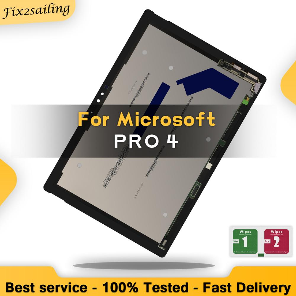 Digitizer Display-Screen Microsoft Surface-Pro Glass-Assembly-Replacement Touch-Panel title=