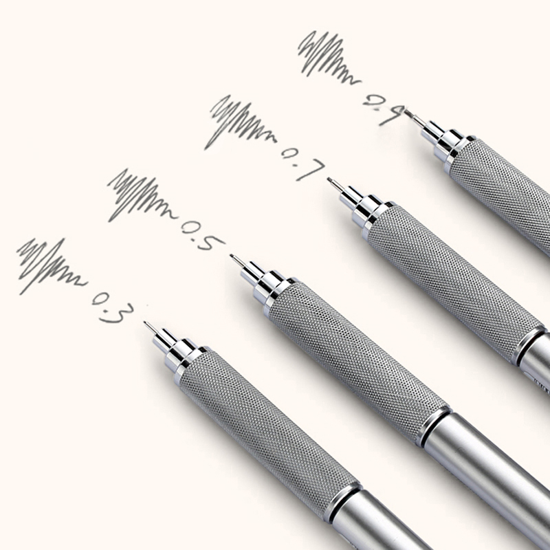 Image 5 - Mitsubishi Uni Mechanical Pencil Metal body pen M3/M4/M5/M7/M9 1010 0.3/0.4/0.5/0.7/0.9MM Writing Supplies Office & Schoolmechanical penciluni mechanical pencilmechanical pencil metal -
