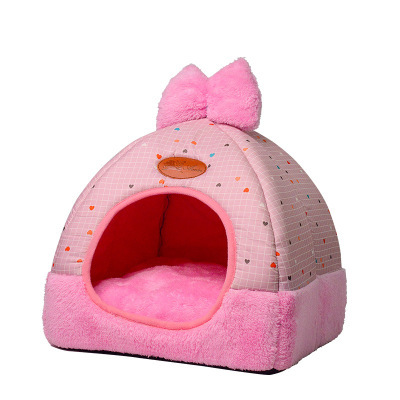 Dog Bed Mat Kennel Winter Warm Dog Puppy Cats Bed Sleeping House for Dogs Nest Sofa Pet Kennel House Mat dog beds for small dogs